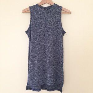 Papermoon / stitch fix Zora side slit knit top